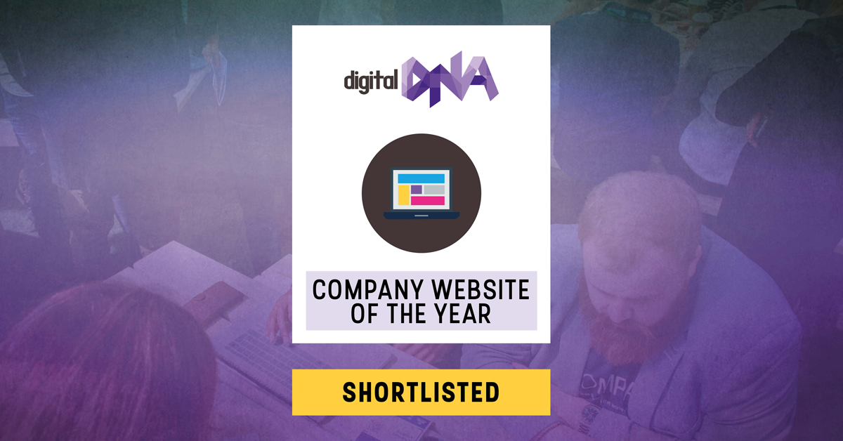 My Transfer Test is shortlisted for Company Website of the Year at Digital DNA Awards