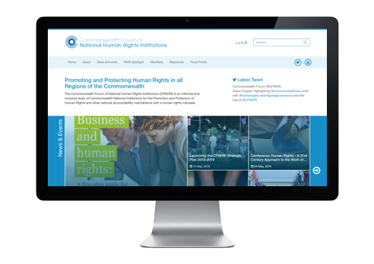 CFNHRI launches its new responsive website