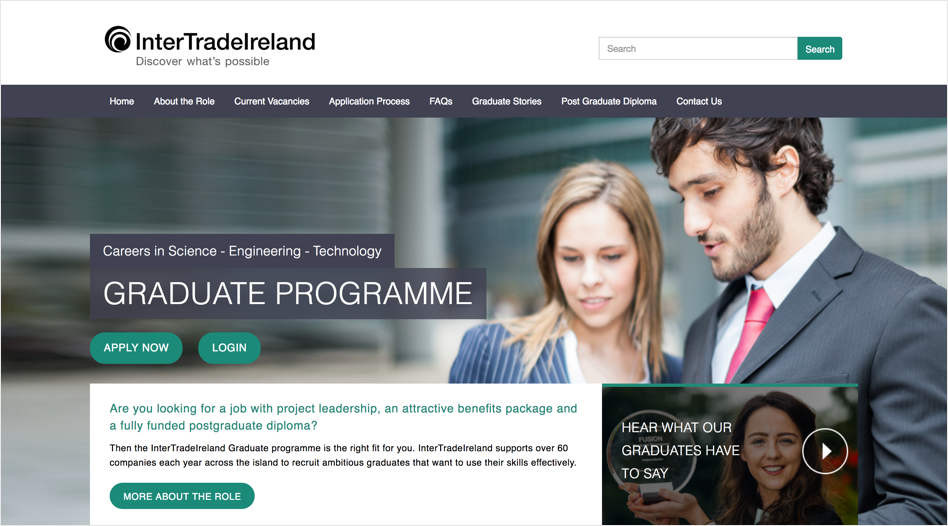 InterTradeIreland's Graduate Programme gets a new look for 2017