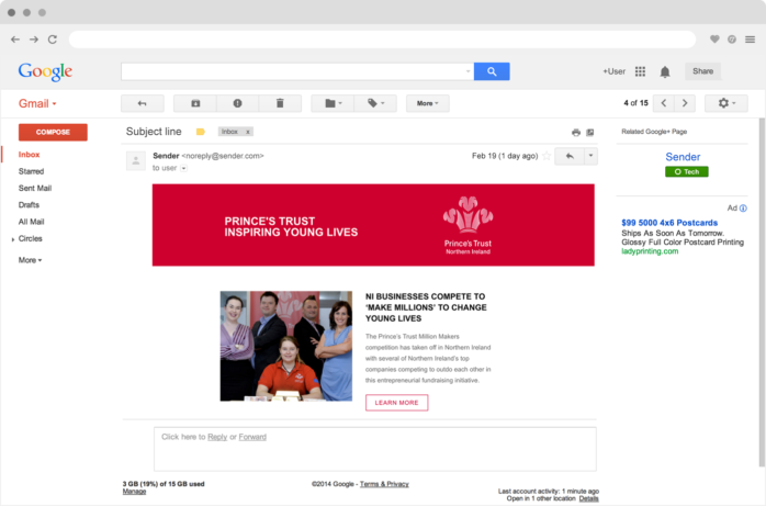 The Princes Trust Email